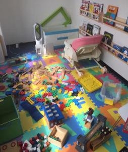 幼稚園の屋内をデルフィーノでまるごと抗菌